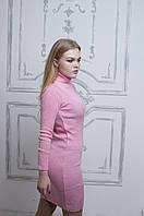 Женское вязаное  тонкое платье ( весна ) (АК-024)