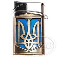 Зажигалка с большим гербом Украины