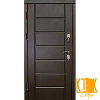 """Входная дверь в квартиру серии VIP+  """"Канзас"""" (Венге южное)"""