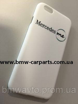 Чехол для iPhone 6 Mercedes me, White Plastic Case, Soft Touch, фото 2