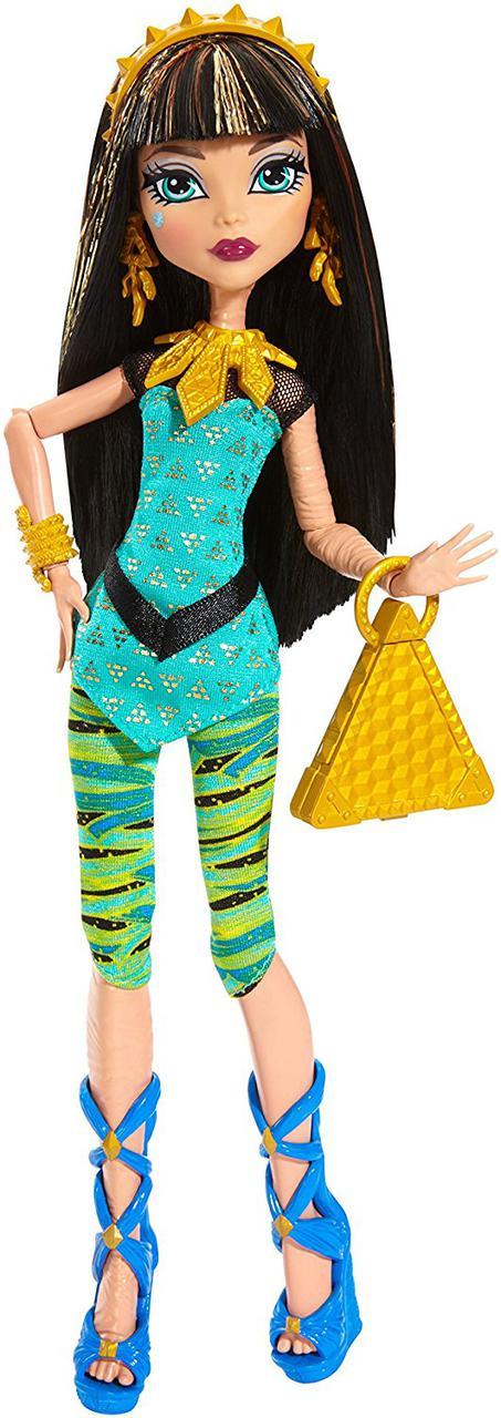 Monster High Signature Look Core Cleo De Nile Doll Кукла Монстр Хай Клео де Нил Первый день в школе