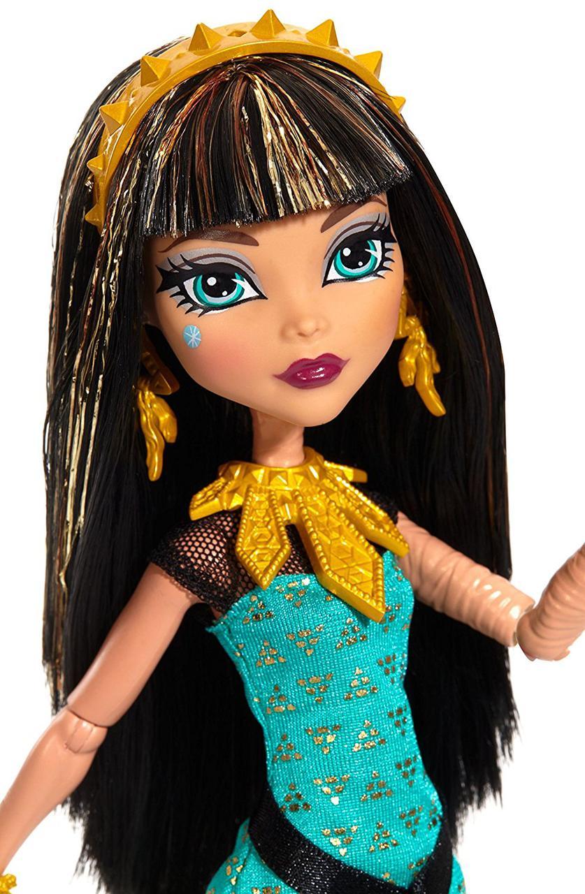 Клео де Нил Первый день в школе Кукла Монстр Хай Monster High Signature Look Core Cleo De Nile Doll