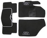 """Коврики на Chery Kimo '07-14. Текстильные автоковрики. Тип """"Стандарт"""""""