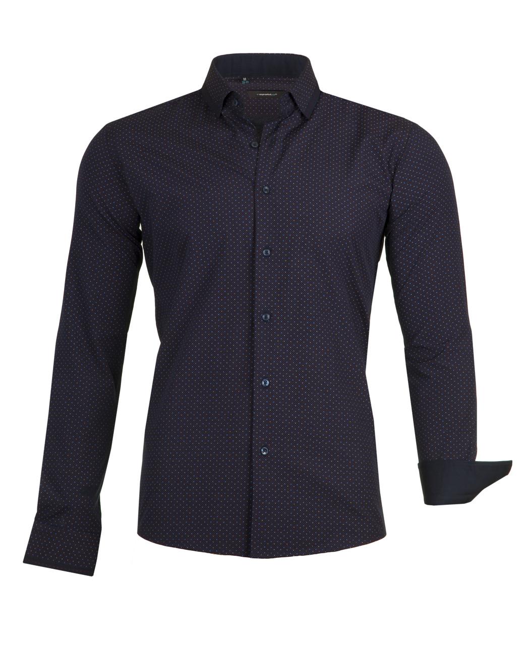 Рубашка мужская Grand Темно-синяя