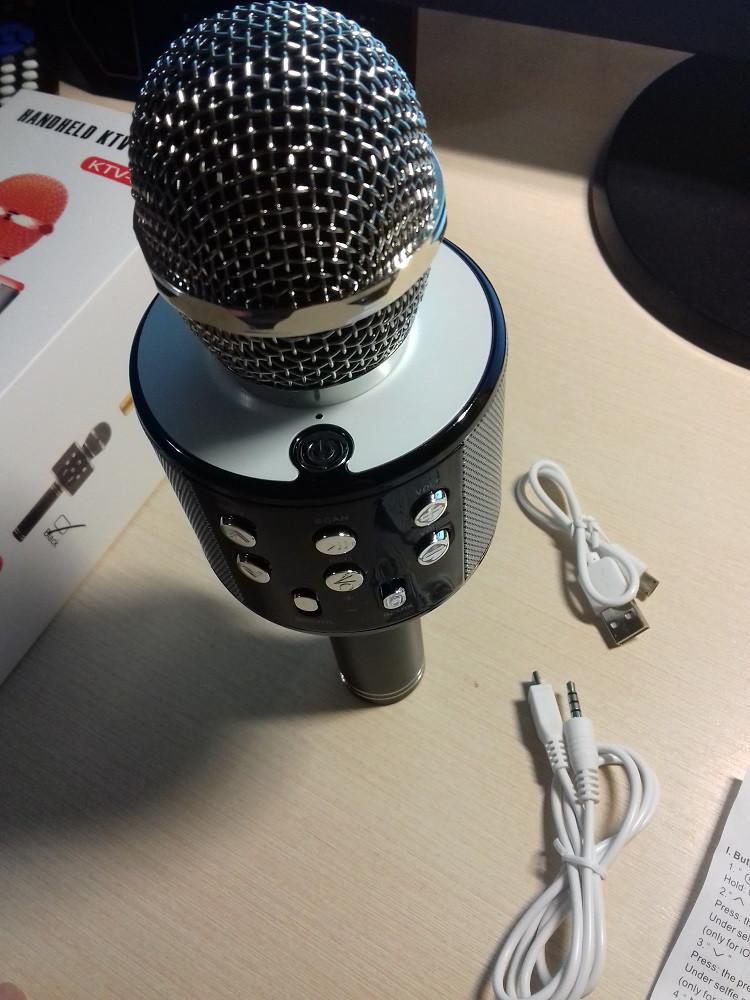 Безпровідний мікрофон караоке WS-858