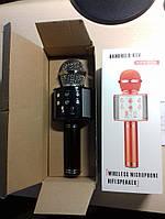 Безпровідний мікрофон караоке WS-858, фото 5