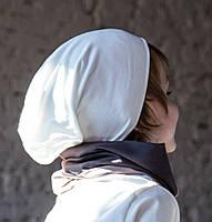 Детская шапка бини. Молочный. Все размеры от 42см.