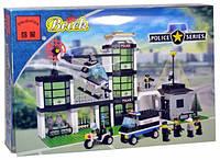 """Конструктор """"Полиция - Полицейский участок"""" 430 дет, Brick 110/208883, фото 1"""