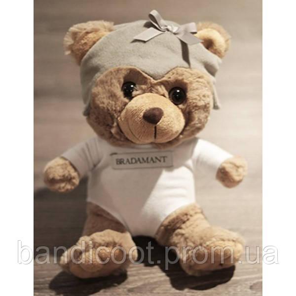 Мягкая игрушка Мишка BRADAMANT The Bear, 20 см