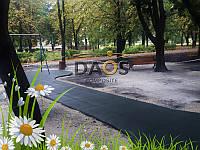 Резиновая полиуретановая уличная плитка (1000 на 1000 мм), фото 1