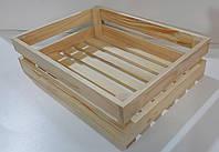 Ящик из дерева для овощей и фруктов