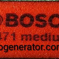 Шлифовальная губка Bosch средняя Best for Flat and Edge, 2608608225