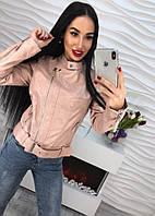 Женская стильная куртка из эко-кожи (2 цвета), фото 1