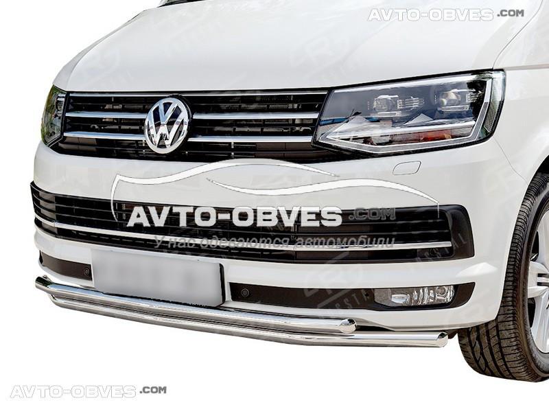 Захисна дуга подвійна для Volkswagen T6 2015-2020