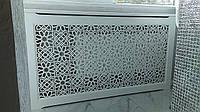 Экраны для батарей отопления из дерева, решетки декоративные №23, фото 1