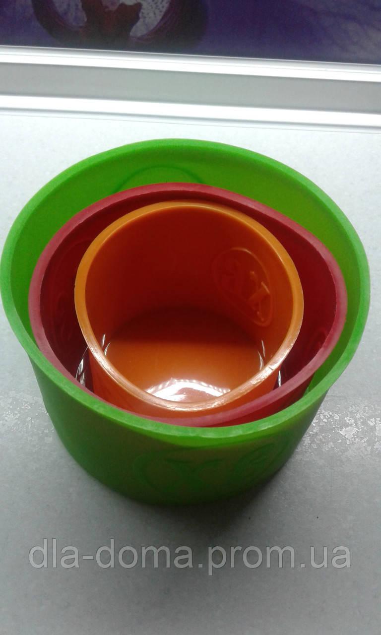 Набор силиконовых форм для выпекания куличей