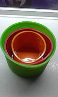 Набор силиконовых форм для выпекания куличей, фото 1