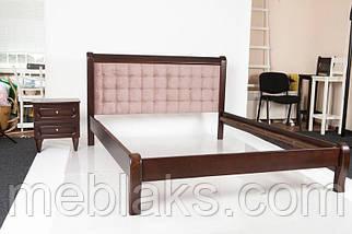 """Кровать деревянная """"Севилья"""" орех Модуль Люкс, фото 2"""