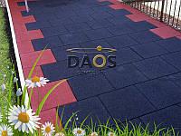 Резиновая плитка для улицы (1000 на 1000 мм), фото 1