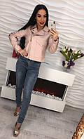 Женская красивая куртка с вышивкой , фото 1