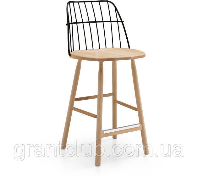 Деревянный барный стул STRIKE H65 фабрики MIDJ (Италия)