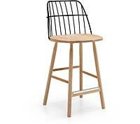 Современный деревянный барный стул STRIKE H65 фабрики MIDJ (Италия)