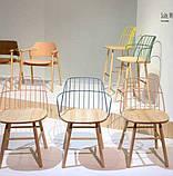 Деревянный барный стул STRIKE H65 фабрики MIDJ (Италия), фото 4