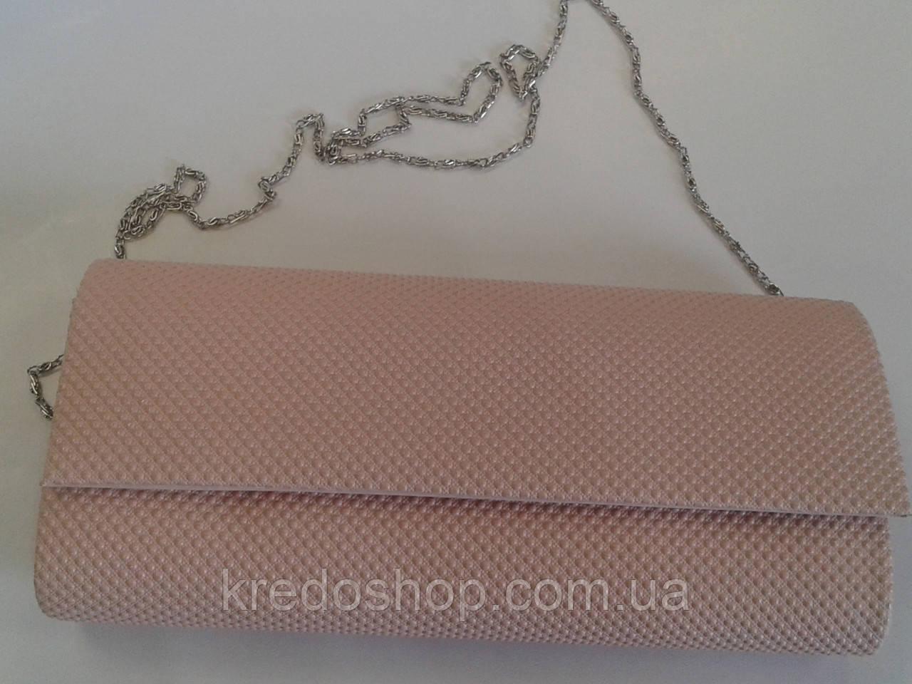 e04175759f0f Клатч женский вечерний цвета пудры.(Турция) - Интернет-магазин сумок и  аксессуаров