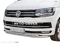 Защитная дуга двойная VolksWagen T6 2015-2020