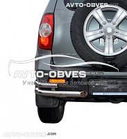 Защитные углы двойные для Chevrolet Niva Bertone от ИМ Автообвес (п.к. АК3)