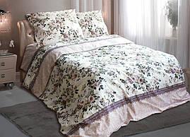 Комплект постельного белья евро  АМЕЛИЯ ( нав. 70*70)