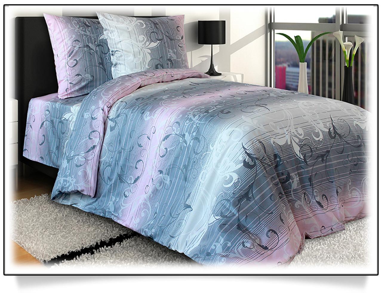 Комплект постельного белья семейный ЖАККАРД (нав. 70*70 - 2шт.)