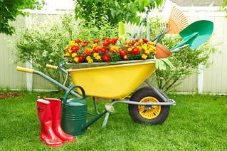 Инвентарь для сада,огорода, и садовые фигурки