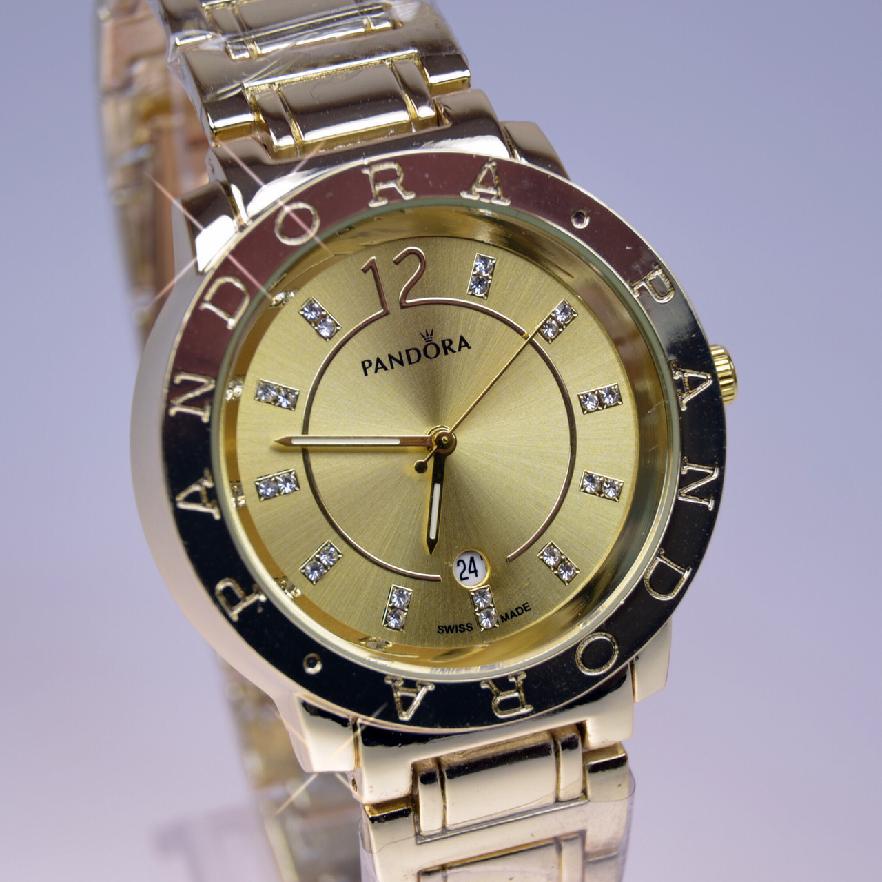 7d9431f4ec05 Женские наручные часы PANDORA (Пандора) B36 Gold календарь  продажа ...