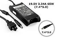 Зарядные устройства для ноутбуков DELL 19.5V 3.34A 65W 7.4x5.0