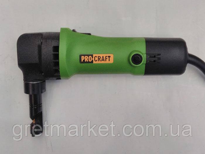Ножницы по металлу электрические PROCRAFT SM 1.6-1000(вырубные)