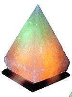 Соляной светильник Пирамида