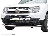 Защитная дуга одинарная для Dacia Duster 2010-2017