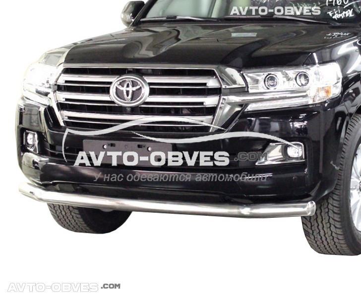Защитная дуга одинарная Toyota LC200 2016-…