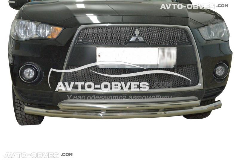Захисна дуга подвійна Mitsubishi Outlander XL 2010-2012