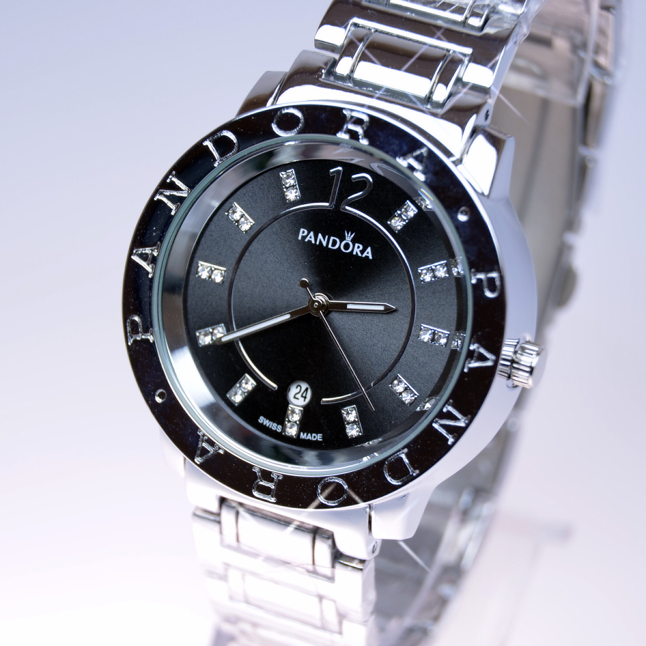 85e31787cc43 Женские наручные часы PANDORA (Пандора) B36 Silver календарь ...