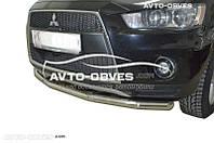 Защитная дуга одинарная для Mitsubishi Outlander XL 2010-2012