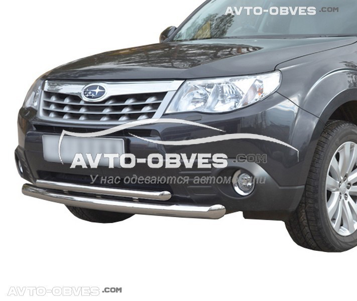 Защитная дуга двойная для Subaru Forester 2008-2012