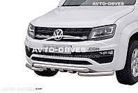 Защита бампера модельная VW Amarok 2016-...