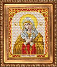 """Схема для вышивки бисером """"Пресвятая Богородица Умиление"""" И-5006"""