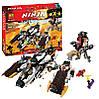 """Конструктор Bela Ninja 10529 (аналог Lego Ninjago 70595) """"Ультра стелс рейдер"""" 1135 дет"""