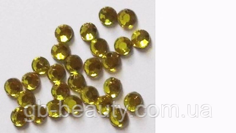 Стрази №3 золото (в упаковці 50 шт, ціна за упаковку)