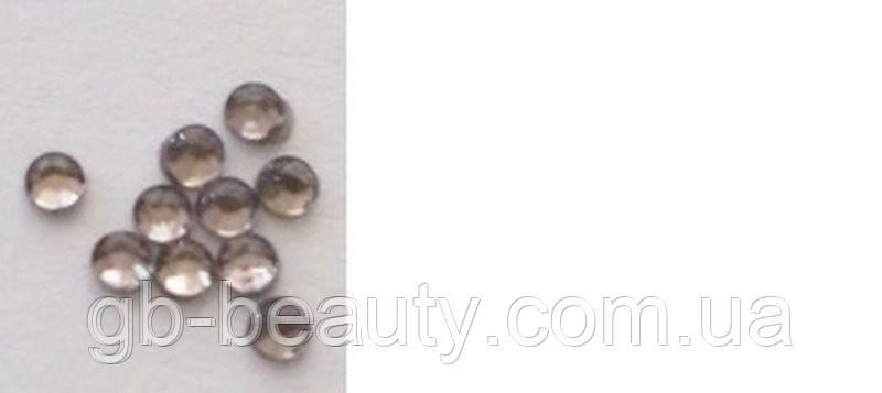 Стразы №4  серебро (в упаковке 50 шт, цена за упаковку)