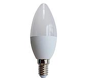 Led лампа LM289 7W C37M E14  6500K , фото 1