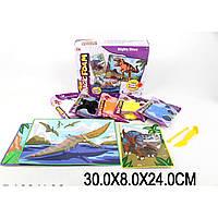 Набор для творчества 882-95/6/7 шариковый пластилин, объемная картинка,в кор. 30*8*24 см